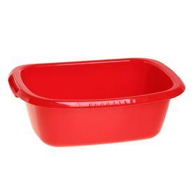 Таз овальный «Водолей», 11 л, цвет красный