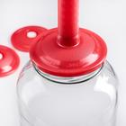 Набор для консервации и хранения продуктов вакуумный «Вакс 82Б»: насос, 9 крышек - Фото 5