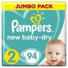 Подгузники Pampers New Baby-dry Mini (4-8 кг), 94 шт - Фото 1