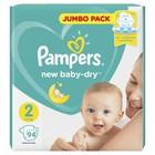 Подгузники Pampers New Baby-dry Mini (4-8 кг), 94 шт - Фото 2