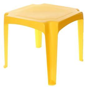Детский стол, цвет жёлтый Ош
