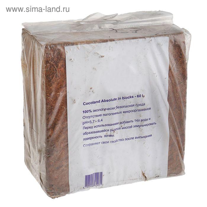 Субстрат кокосовый Absolut в блоках по 5 кг