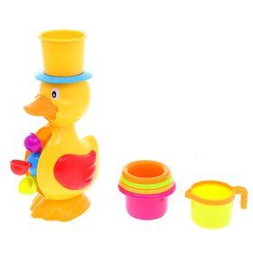 УЦЕНКА Игрушки для купания «Утка-мельница», на приоске
