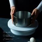 Форма разъёмная для выпечки кексов и тортов с регулировкой размера Доляна, d=16-30 см - Фото 2
