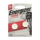 Батарейка литиевая Energizer, CR2032-2BL, 3В, блистер, 2 шт. - Фото 3