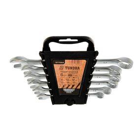 Набор ключей комбинированных в холдере TUNDRA comfort, CrV, матовые, 8 - 17 мм, 6 шт. Ош