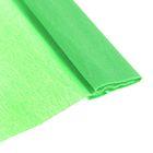 Бумага крепированная 50*200см плотность-32 г/м в рулоне Зеленый светлый  (80-22)