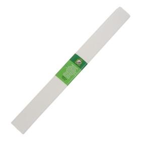 Бумага крепированная 50 х 200 см, плотность - 32 г/м, в рулоне, белая (80-20) Ош