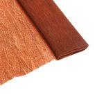 Бумага крепированная 50х200 см, плотность - 32 г/м, в рулоне, коричневая (80-43)