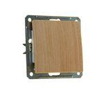 """Выключатель """"W59"""" SchE VS116-154-7-86, 16 А, 1 клавиша, скрытый, цвет сосна"""