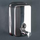 """Диспенсер для жидкого мыла, настенный, 500 мл, """"Accoona A181"""", металл, цвет хром"""