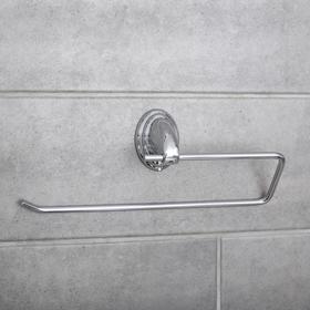 Держатель для полотенец одинарный, Accoona A11105-2, цвет хром Ош
