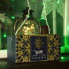 """Гирлянда """"Бахрома"""" 3 х 0.6 м , IP44, УМС, белая нить, 160 LED, свечение зелёное, 220 В - Фото 4"""