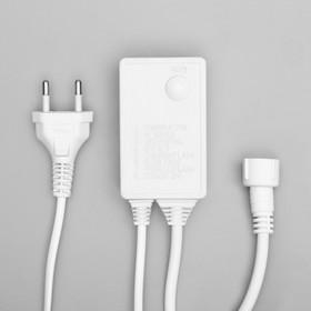 Контроллер для гирлянд УМС до 8000 LED, 220V, Н.Б. 3W, 8 режимов