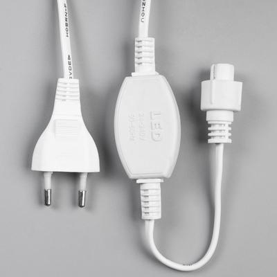 "Шнур питания для гирлянд ""Занавес"" до 8000 LED, 220V, Н.Б. 2W, для мульти, фикс., мерцание - Фото 1"