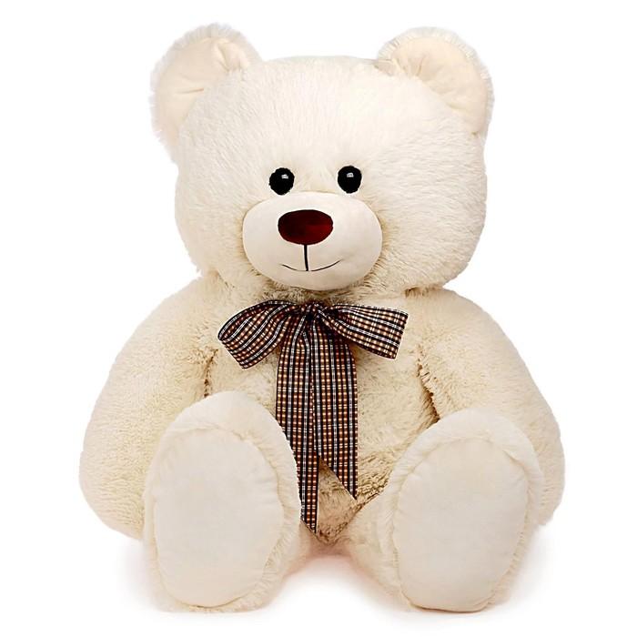 Мягкая игрушка Медведь с бантом, 103 см