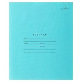 купить Тетрадь 12 листов узкая линейка Зелёная обложка, Арх ЦБК