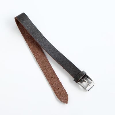 Ремешок для часов, женский, 12 мм, натуральная кожа - Фото 1