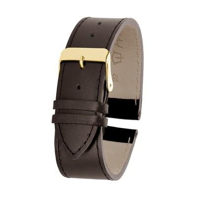Ремешок для часов, мужской, 18 мм, коричневый, микс
