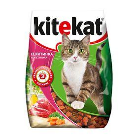 Сухой корм KiteKat 'Аппетитная телятинка' для кошек, 350 г Ош