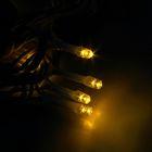 "Гирлянда ""Метраж"" улич. УМС, Д: 5 м, Н.Б. 3W LED-50-220V, БЕЗ контр. ЖЕЛТЫЙ - Фото 3"