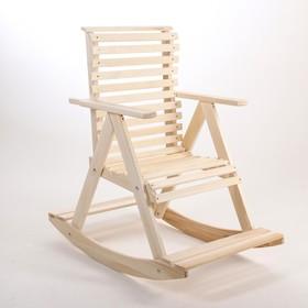 Кресло-качалка, 70×110×90см, из липы, 'Добропаровъ' Ош
