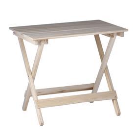 Стол складной, 80×60×75см, из липы Ош