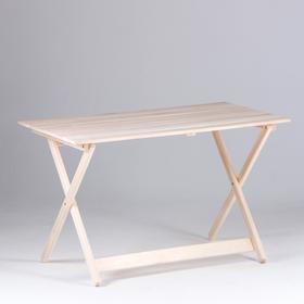 Стол складной, 120×60×75см, из липы, 'Добропаровъ' Ош