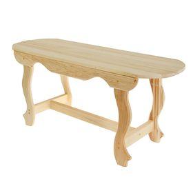 Стол с фигурными ножками 100х63х73 см Ош