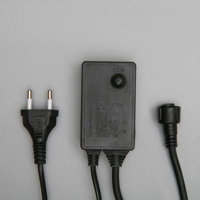 Контроллер для гирлянд УМС до 8000 LED, 220V, Н.Т. 3W, 8 режимов - Фото 1