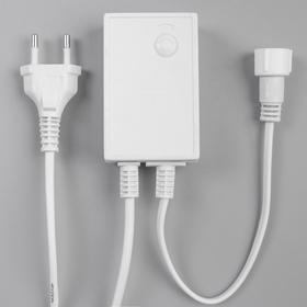 Контроллер уличный для гирлянд УМС, до 1000 LED, 220V, Н.Б. 3W, 8 режимов