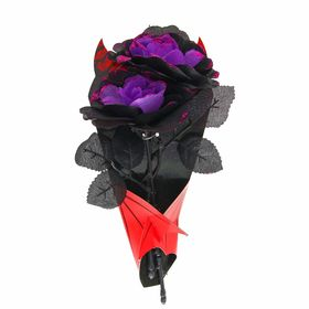Букет «Вампир», цвет фиолетовый Ош