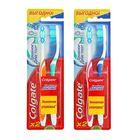 Зубная щётка Colgate «Тройное действие», цвет МИКС, 2 шт.