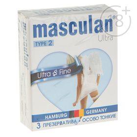 Презервативы Masculan 2 ultra №3 особо тонкий с обильной смазкой