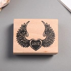 Печать 'Крылатое сердце' Ош