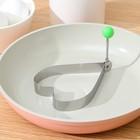 """Форма для яичницы и оладий """"Сердце"""""""