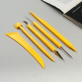Набор инструментов для моделирования, 5 предметов Ош
