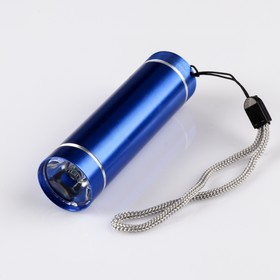 Фонарь ручной, 1 LED, 3 AАА, микс, 8.7х2.4х2.4 см Ош