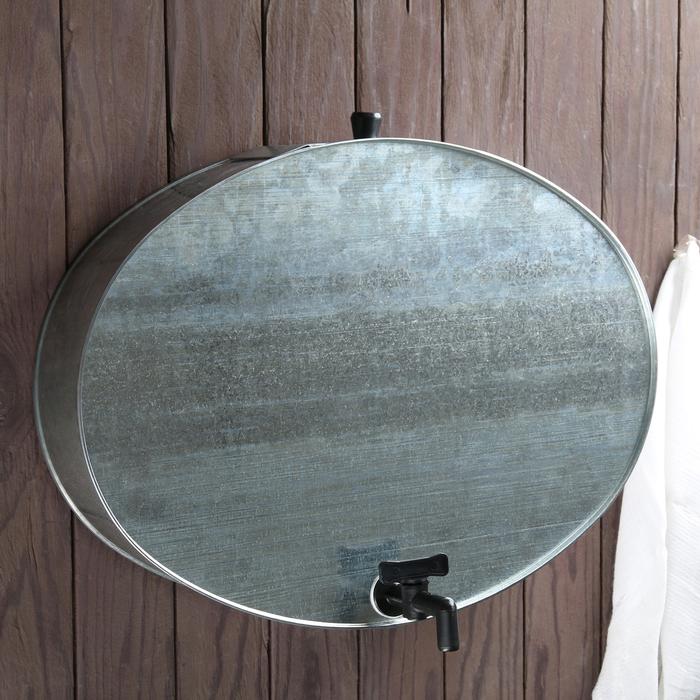 Умывальник 10 л, с краном, оцинкованный