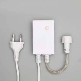 """Контроллер для гирлянд УМС """"Водопад"""", до 4000 LED, 220V, Н.Б. 5W, 8 режимов"""