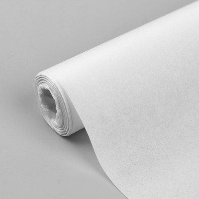Калька 30 г/кв.м, 42 см, 10 м, цвет белый - Фото 1