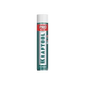 Пена монтажная Kraftool Kraftflex Premium, адаптерная, всесезонная, 750 мл