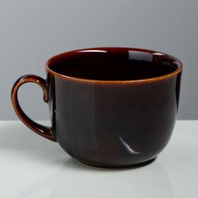 Бульонница 'Аппетитка' коричневая, 0,5 л Ош