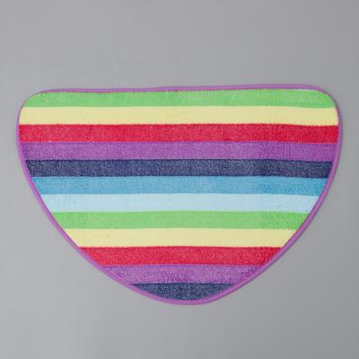 Коврик «Радужная волна», 40×60 см