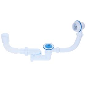 Комплект для ванны 'АНИ' C6255: сифон регулируемый, гибкая труба 40 x 50 мм Ош