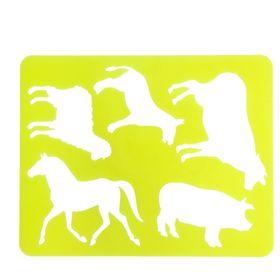 Трафарет для рисования «Домашние животные», европодвес Ош