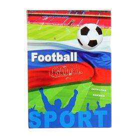 Записная книжка А7, 48 листов «Футбол №2», твёрдая обложка, глянцевая ламинация Ош