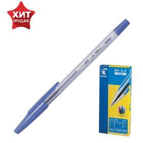 Ручка шариковая Pilot BP-SF, узел 0.7мм, чернила синие на масляной основе, металлический наконечник