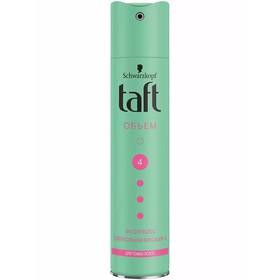Лак для волос Taft «Объём», для тонких волос, сверхсильная фиксация, 225 мл