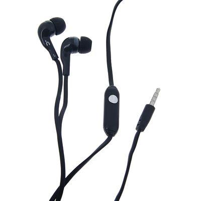 Наушники Human Friends Convex, вакуумные, микрофон, 95 дБ, 32 Ом, 3.5 мм, 1 м, черные